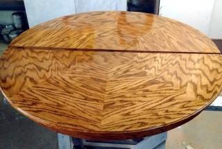 Renowacja okrągłego stołu  - Obrazek